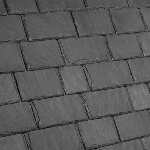 Multi Width Composite Slate Roof Tile Davinci Roofscapes