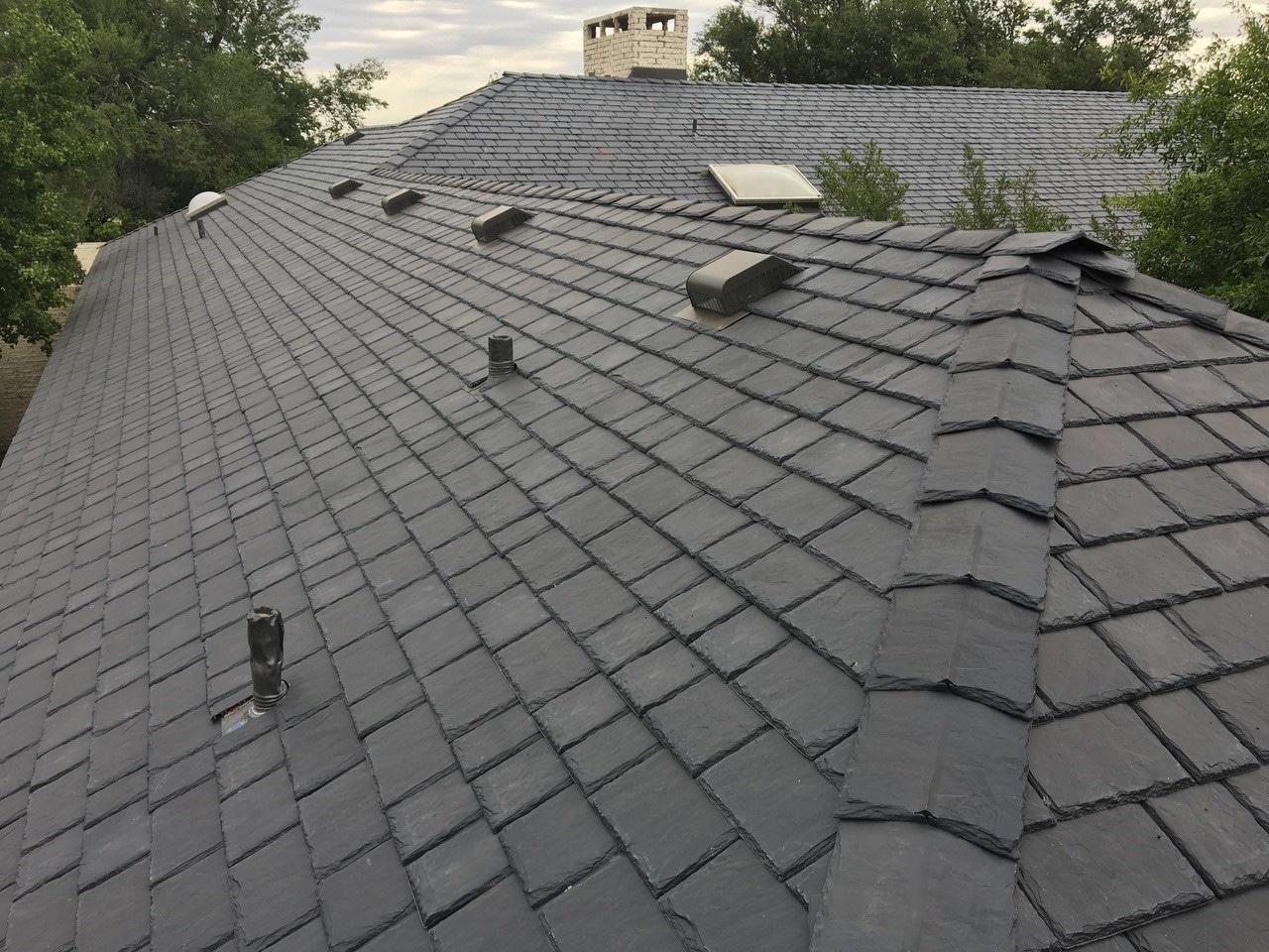 Synthetic Slate Amp Shake Roof Gallery Davinci Roofscapes