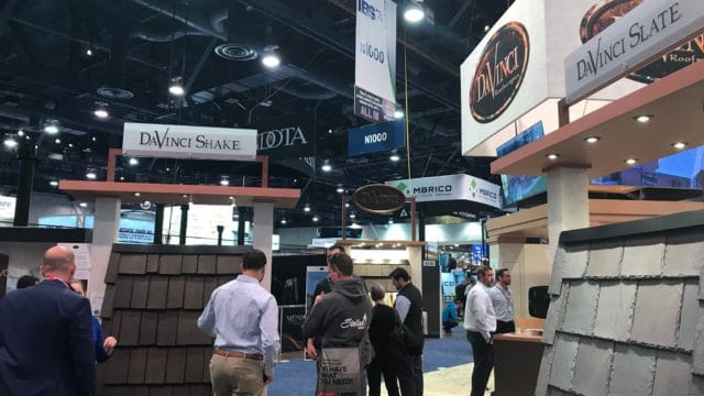 davinci roofscapes at ibs tradeshow