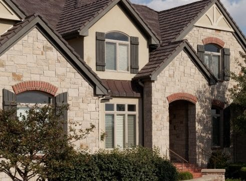 Weatherguard roofing composite shake