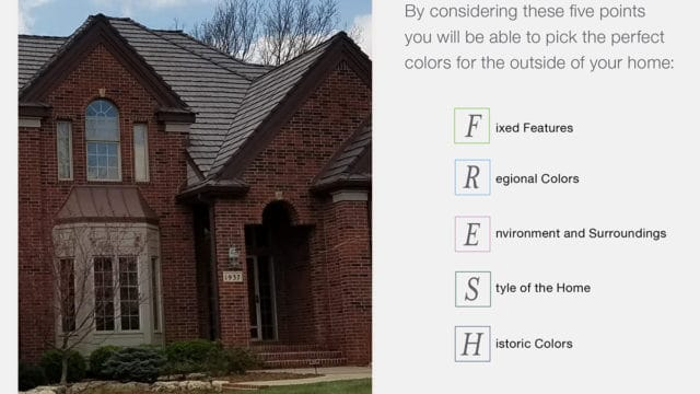 FRESH Color Schemes for Brick