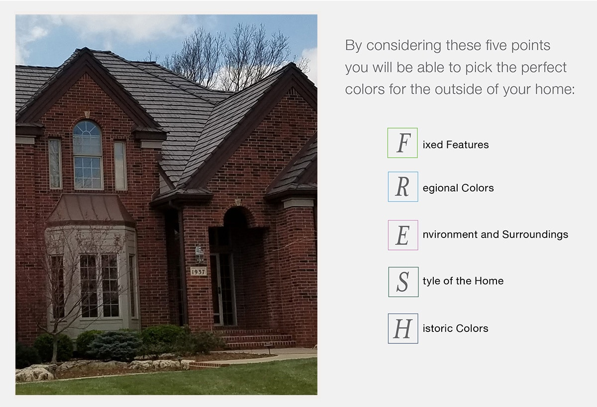 Brick Home Exterior Color Schemes Davinci Roofscapes,Multiple Tablet Charging Station