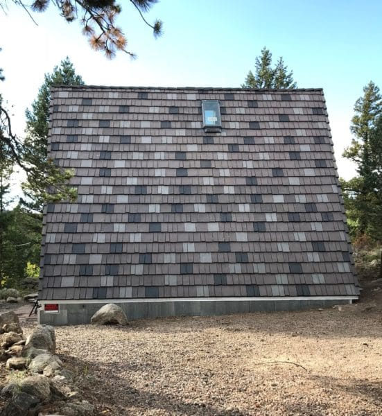 Colorado Shake Roof