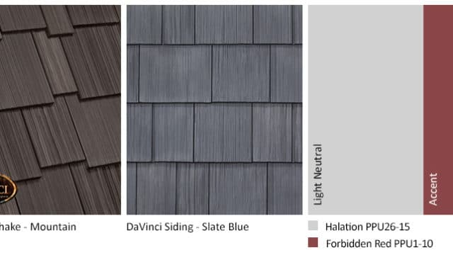 2. Multi-Width Shake – Mountain – Slate Blue