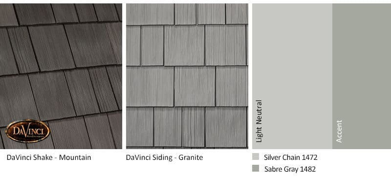 2. Select Shake – Mountain – Granite exterior color schemes shake siding