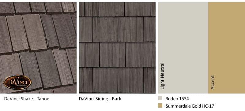3. Bellaforte Shake – Tahoe – Bark Brown Shake Siding Exterior Color Schemes