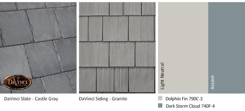 3. Bellaforte Slate – Castle Gray – Granite exterior color schemes shake siding