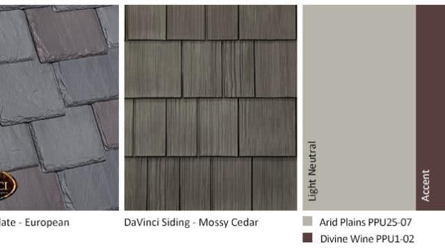 4. Multi-Width Slate – European – Mossy Cedar