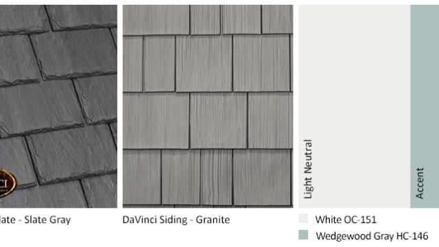 5. Single-Width Slate – Slate Gray – Granite