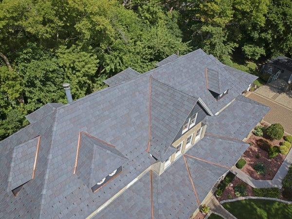 Impact-Resistant Slate Roof