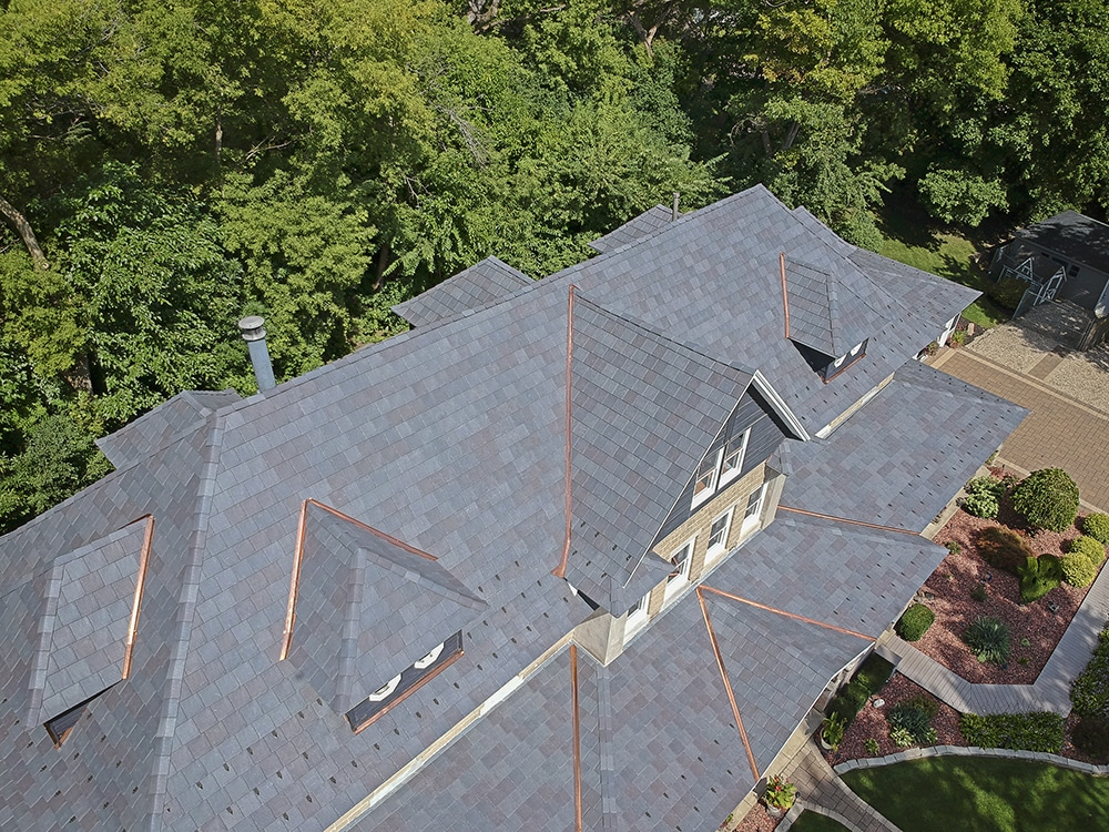 Impact-Resistant Slate Roof