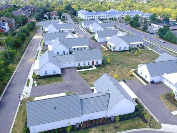 A birds-eye view of how Bellaforte Slate tiles transformed this residential community