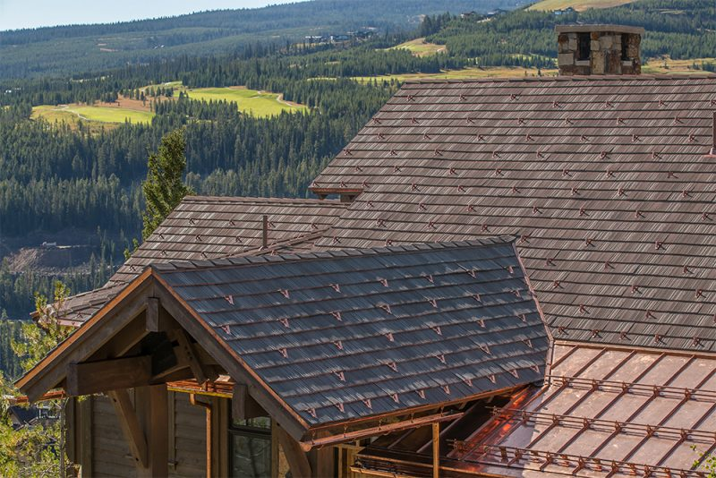 More of that incredible DaVinci roof over at Tahoe. Man, Montana is great.