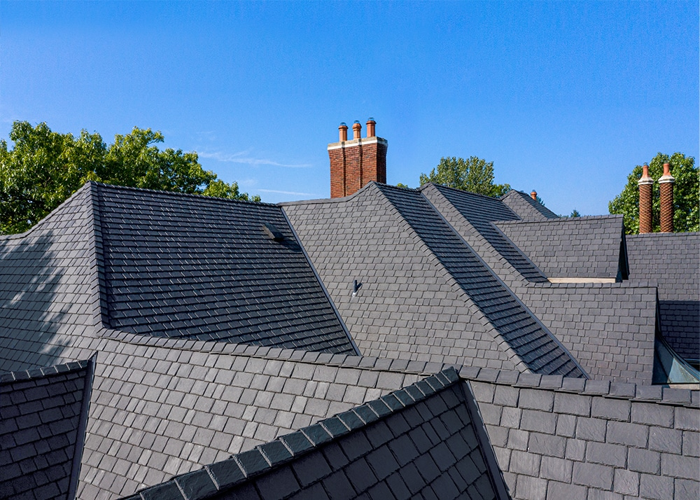 A roof, or a work of art? You can be the judge.