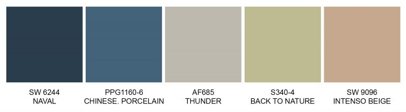 Exterior Color Trends 2020 - 2021