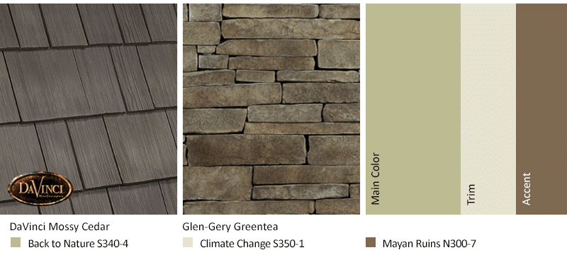 Full Circle Select Shake Mossy Cedar makes for a great color trend