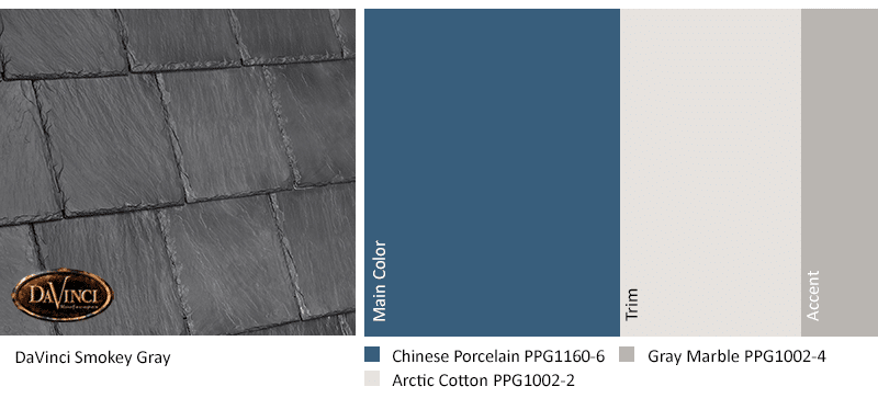 Full Circle Smokey Gray Chinese Porcelain is a great color trend