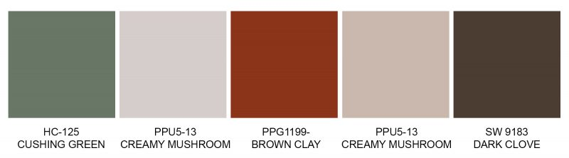 Exterior Color Trends Go Lightly, a delightful trend.