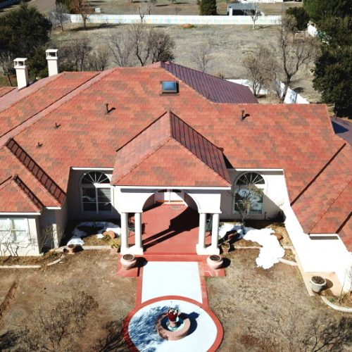 A worry-free DaVinci roof, deep in the heart of Texas