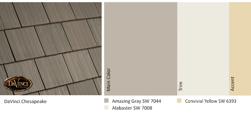 2021 Color Trends Chesapeake Amazing Gray