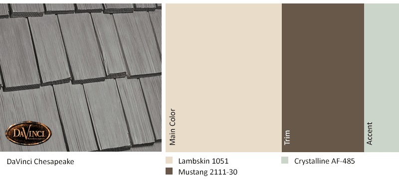 Exterior Color Schemes Chesapeake Lambskin