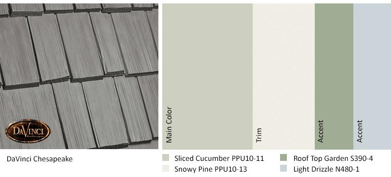 Exterior Color Schemes Chesapeake Sliced Cucumber