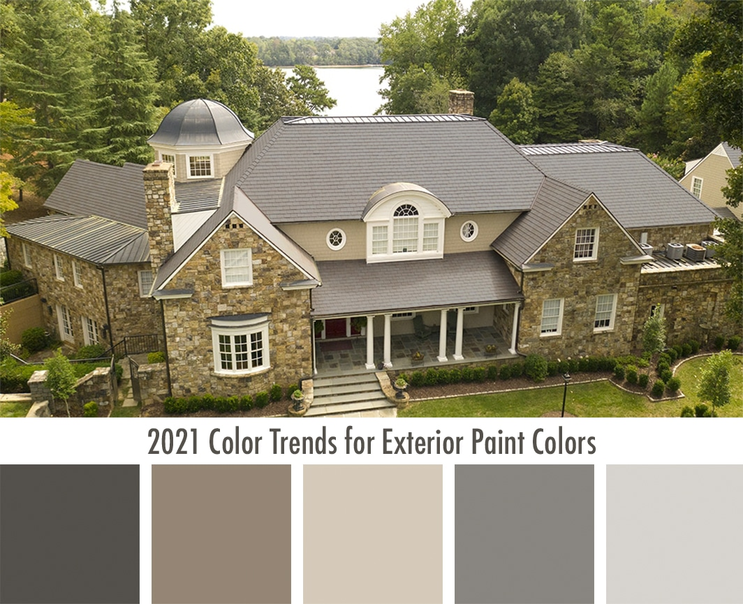 2021 Color Trends For Exterior Paint Colors Davinci Roofscapes