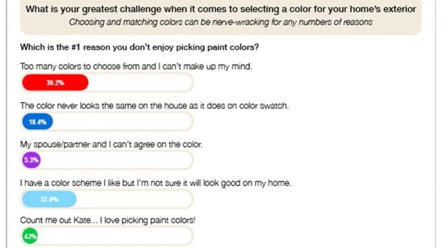 Homeowner Color Challenges Survey