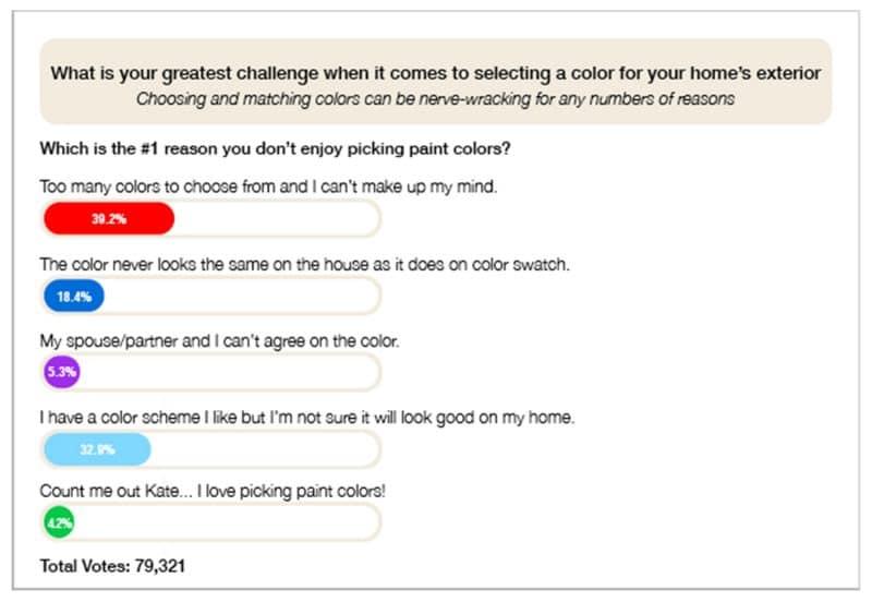 Home Exterior Colors Survey